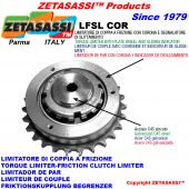 """TORQUE LIMITER WITH PLATE WHEEL AND SLIDING INDICATOR """"LFSLCOR"""""""