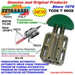 TENDICATENA LINEARE TO08T INOX testa tonda