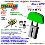 TENDICATENA LINEARE TO1-P testa ovale (PTFE)