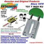 TENDICATENA LINEARE serie INOX TO1 testa tonda (PTFE)