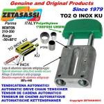 TENDICATENA LINEARE serie INOX TO2 testa ovale (PTFE)