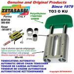 TENDICATENA LINEARE TO3 testa ovale (PTFE)