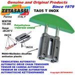 TENSOR DE CADENA LINEAL TA05 INOX cabeza a arco redondo