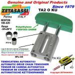 LINEAR CHAIN TENSIONER TA2 KU oval arch head (PTFE)