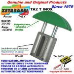 LINEAR CHAIN TENSIONER TA2 INOX round arch head