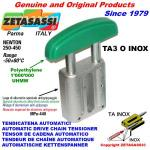 LINEAR CHAIN TENSIONER TA3 INOX oval arch head