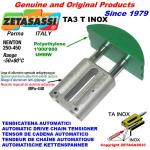 LINEAR CHAIN TENSIONER TA3 INOX round arch head