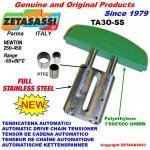 TENDICATENA LINEARE in acciaio inox TA3 ad arco ovale