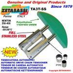 TENDICATENA LINEARE in acciaio inox TA3 ad arco tondo