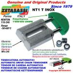 INOX LINEAR CHAIN TENSIONER NT1 round head