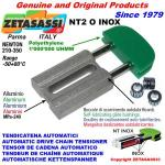 INOX LINEAR CHAIN TENSIONER NT2 oval head