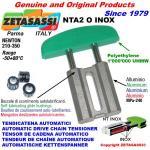 TENSOR DE CADENA LINEAL NTA2 INOX cabeza a arco oval