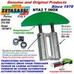 TENSOR DE CADENA LINEAL NTA2 INOX cabeza a arco redondo