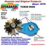 ROTARY DRIVE CHAIN TENSIONER TCR08 idler sprocket stainless