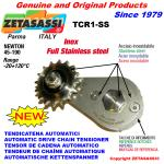 ROTARY DRIVE CHAIN TENSIONER TCR1SS idler sprocket FULL INOX