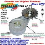 ROTARY DRIVE CHAIN TENSIONER TCR2 idler sprocket hardened