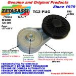 ROTARY BELT TENSIONERS - TC2 PUG with rim pulley