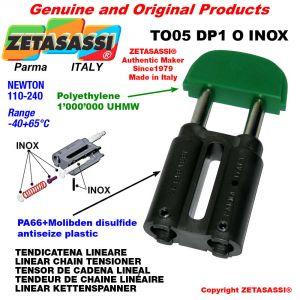 "Tendicatena lineare serie inox 10B1 5/8""x3/8"" semplice Newton 110-240"