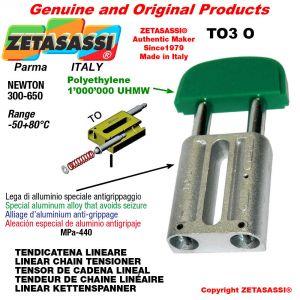 TENDEUR DE CHAINE LINÉAIRE 16A1 ASA80 simple Newton 300-650