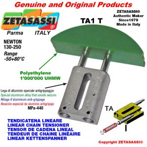 "Tendicatena lineare 06B1 3/8""x7/32"" semplice Newton 130-250"