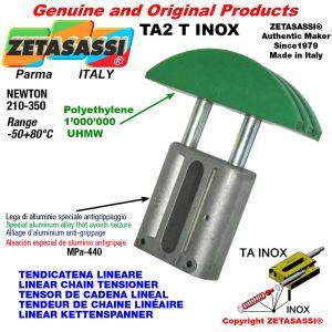 """TENDEUR DE CHAINE LINÉAIRE type INOX 12B2 3/4""""x7/16"""" double Newton 210-350"""