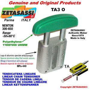 TENDEUR DE CHAINE LINÉAIRE 20A1 ASA100 simple Newton 300-650