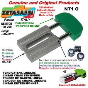 TENDEUR DE CHAINE 08A2 ASA40 double Newton 130-250