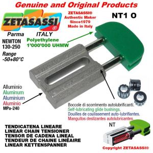 "Tendicatena lineare NT 06B2 3/8""x7/32"" doppio Newton 130-250"