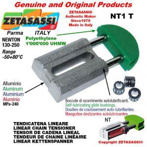 Tendicatena lineare NT 08A1 ASA40 semplice Newton 130-250