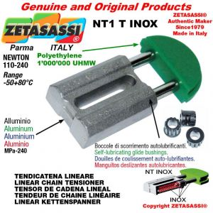 """TENSOR DE CADENA tipo INOX 10B1 5/8""""x3/8"""" simple Newton 110-240"""