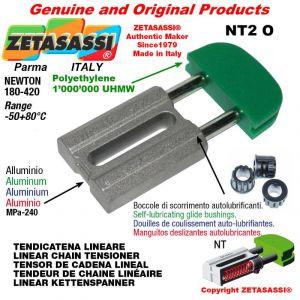 TENDEUR DE CHAINE 10A2 ASA50 double Newton 180-420