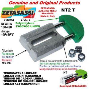 "TENDEUR DE CHAINE 16B1 1""x17mm simple Newton 180-420"