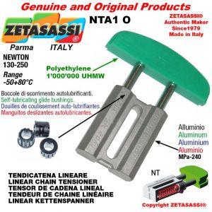 "Tendicatena lineare NT 06B2 3/8""x7/32"" doppio Newton 130-250"