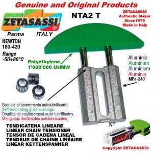 CHAIN TENSIONER 12A2 ASA60 double Newton 180-420