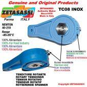 Tenditore rotante TC08INOX serie inox M8x1,25mm Newton 40-210