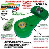 """TENSOR DE CADENA ROTATIVO TCP05O 06B1 3/8""""x7/32"""" simple Newton 30-80"""
