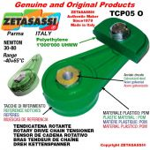 "DREH KETTENSPANNER TCP05O 06B2 3/8""x7/32"" Doppel Newton 30-80"