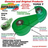 """BRAS TENDEUR DE CHAÎNE TCP05T 08B2 1/2""""x5/16"""" double Newton 30-80"""