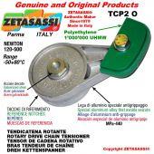 Tendicatena rotante TCP2O 20A1 ASA100 semplice Newton 120-500