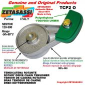 "Tendicatena rotante TCP2O 20B1 1""1/4x3/4"" semplice Newton 120-500"