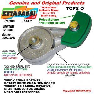 "Tendicatena rotante TCP2O 12B1 3/4""x7/16"" semplice Newton 120-500"