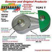 Tendicatena rotante TCP2T 08A3 ASA40 triplo Newton 120-500