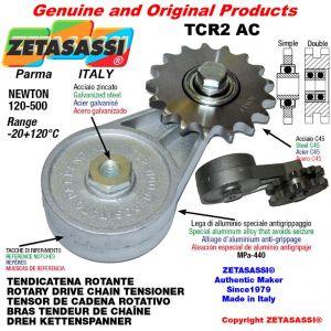 "DREH KETTENSPANNER TCR2AC mit Kettenrad Einfach 10B1 5\8""x3\8"" Z17 Newton 120-500"