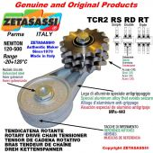 "Tendicatena rotante TCR2RSRDRT con pignone tendicatena 20B2 1""¼x3\4"" doppio Z9 Newton 120-500"