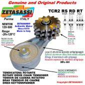 "Tendicatena rotante TCR2RSRDRT con pignone tendicatena 16B2 1""x17 doppio Z12 Newton 120-500"