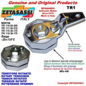 TENSOR ROTATIVO TR1 agujero Ø10,5mm para la fijación de accesorios palanca 110 (Newton 50:200)