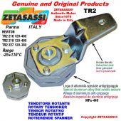 Tenditore rotante TR2 foro Ø12,5mm Leva 227 Newton 120:380