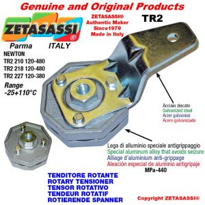 Tenditore rotante TR2 foro Ø12,5mm Leva 210 Newton 120:480