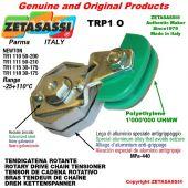 Tendicatena rotante TRP1O 08A1 ASA40 semplice Leva 110 Newton 50:200