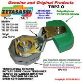 "Tendicatena rotante TRP2O 20B1 1""1/4x3/4"" semplice Leva 218 Newton 120:480"